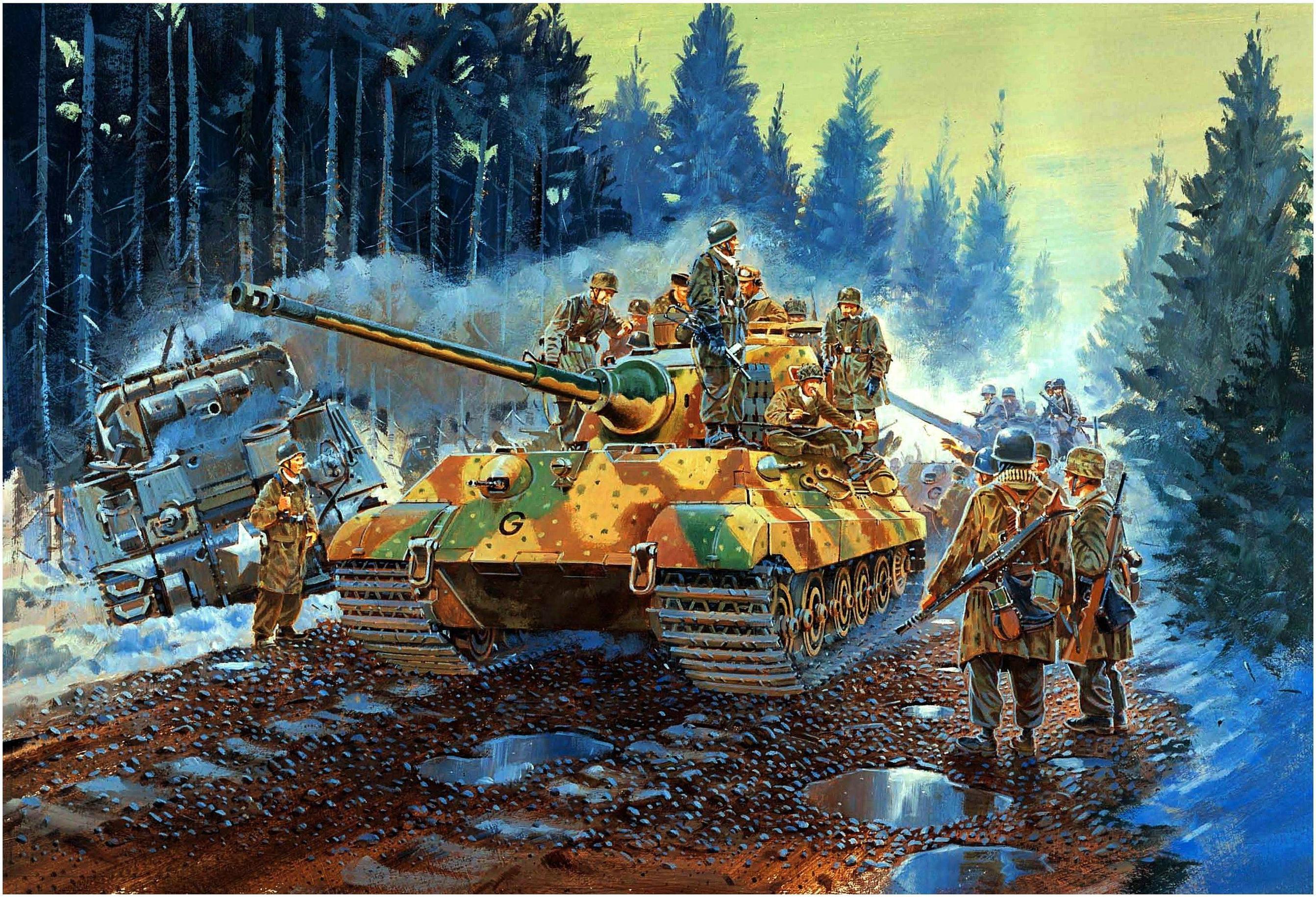Howard Gerrard. Танк Tiger II.