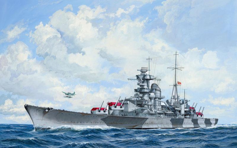 Rahardt Olaf. Тяжелый крейсер «Admiral Hipper».