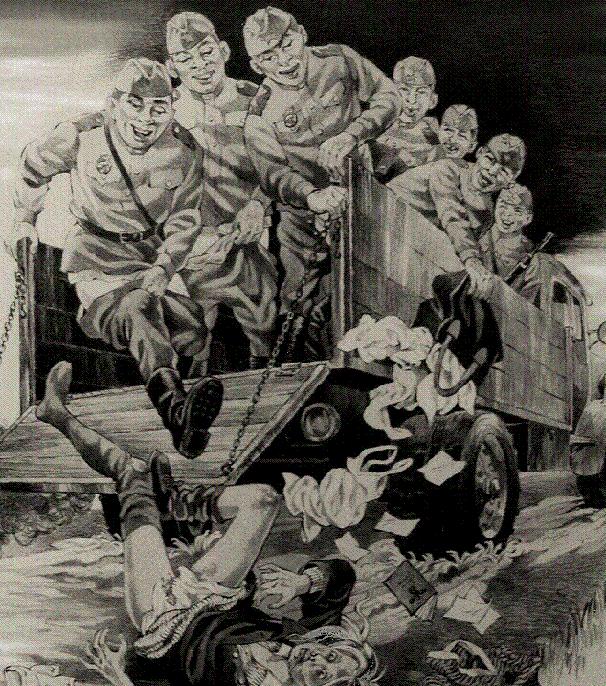 Smagon Herbert. Оккупация земли Рёссель в Восточной Пруссии.
