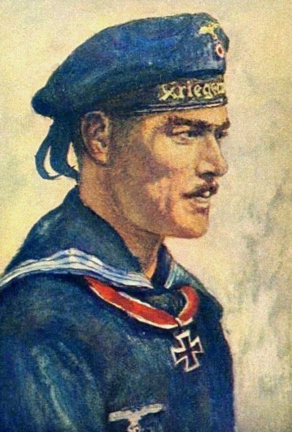 Oskar Graf. Портрет Karl Jörß.