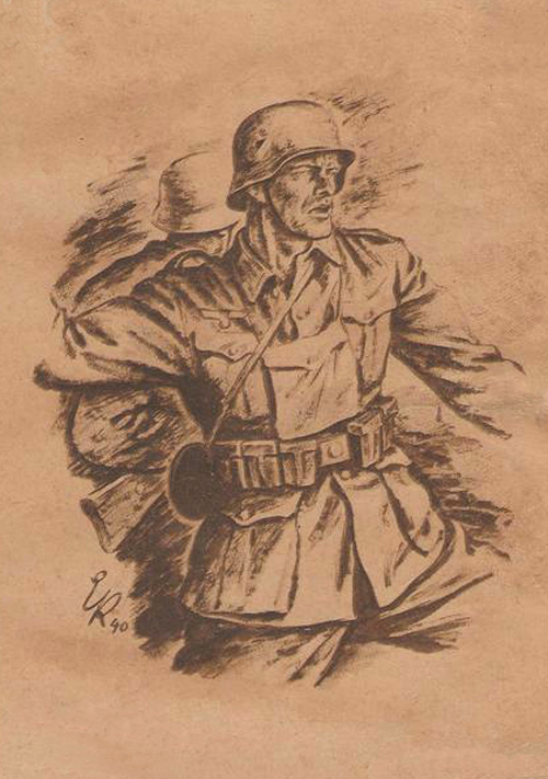 Kretschmann Ernst. Солдаты.