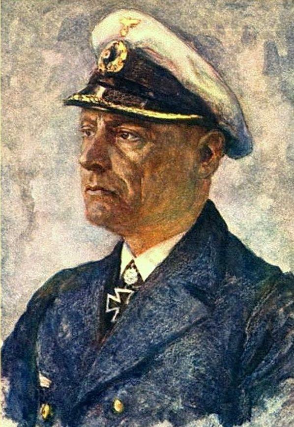 Oskar Graf. Портрет Ernst Felix Krüder.