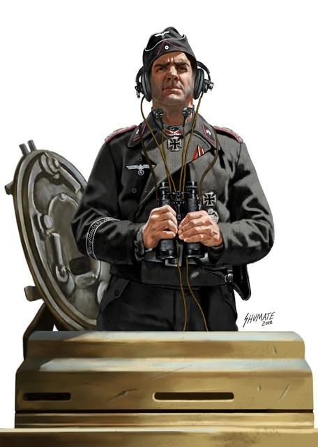 Shumate Johnny. Немецкий танкист.