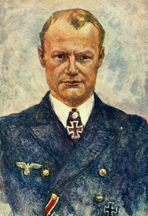 Oskar Graf. Портрет Werner Töniges.