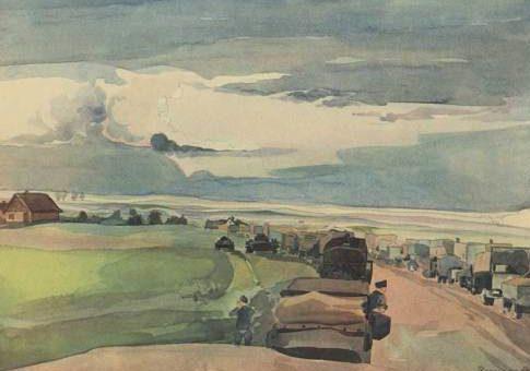 Brauner Fritz. Путь на Восток.