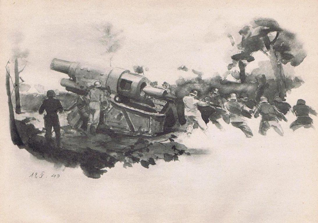 Eigener Ernst. Дальнобойная артиллерия.