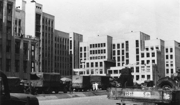 Дом правительства. Осень, 1941 г.