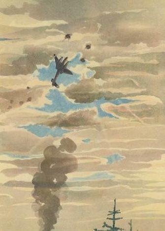 Brauner Fritz. Воздушный бой.