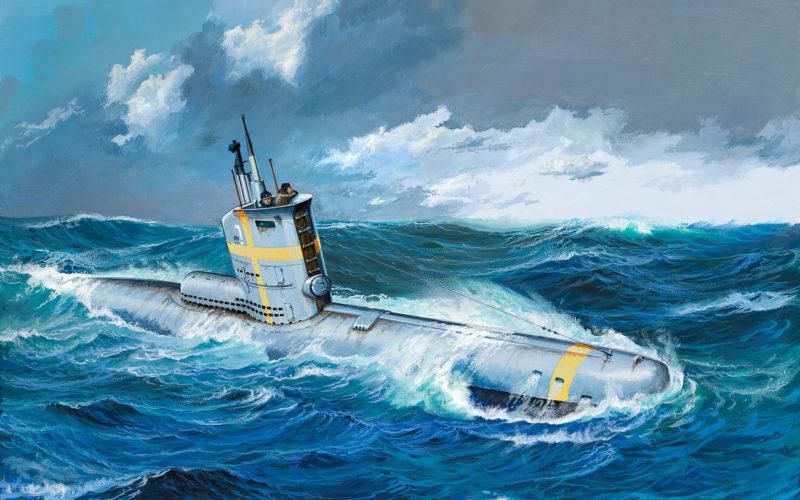 Rahardt Olaf. Немецкая подводная лодка серии XXIII.