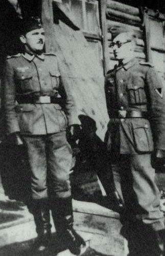 Пушкинские казармы. Вход на вещевой склад. Осень, 1941 г.