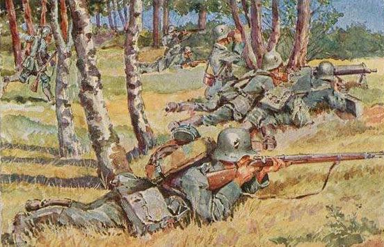 Friedmann Hans. Пехота.