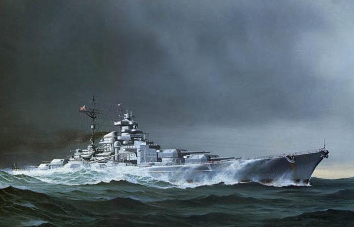 Todt Günther. Линкор «Bismarck».