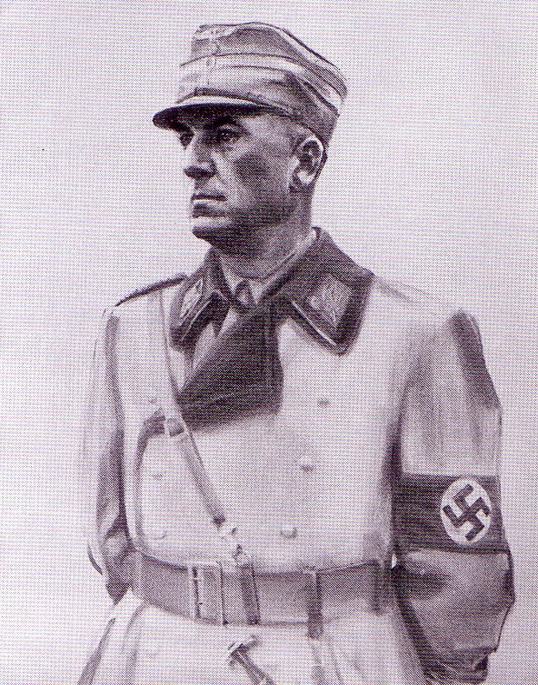 Todt Fitz. Портрет Dr. Reichminister.