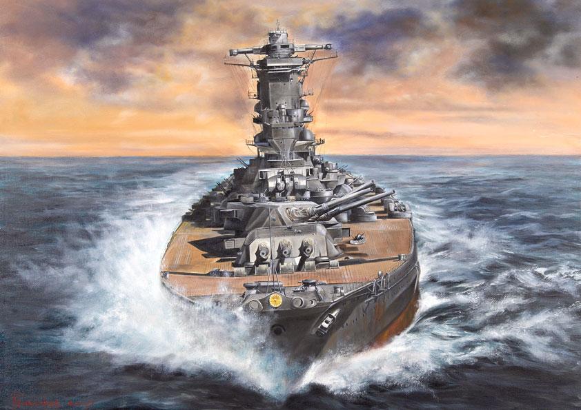 Васильев Глеб. Линкор «Yamato». Последний поход.