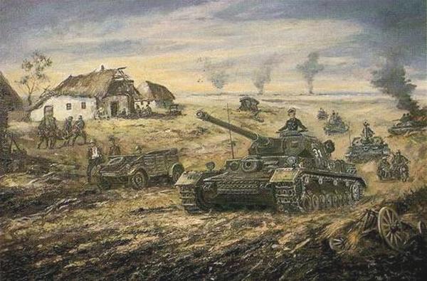Friedmann Hans. Танковая атака.