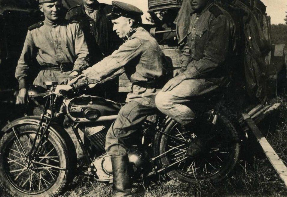 Пехотинцы. Чехословакия. 1945 г.