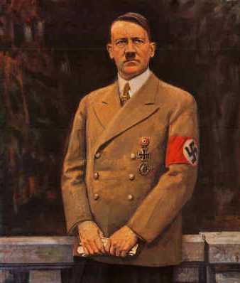 Triebsch Franz. Адольф Гитлер.