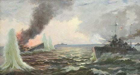 Бельтюков Борис. Морской бой.
