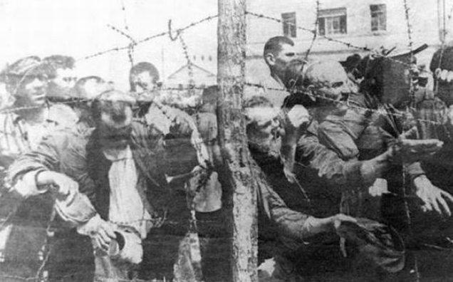 Бараки Минского гетто. 1941 г.