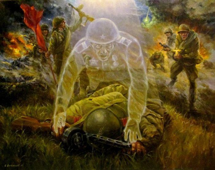 Бессонов Сергей. В атаке. Душа солдата.