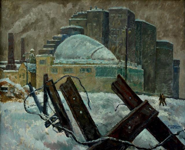 Вейдеманис Эгиль. Москва, 1941.