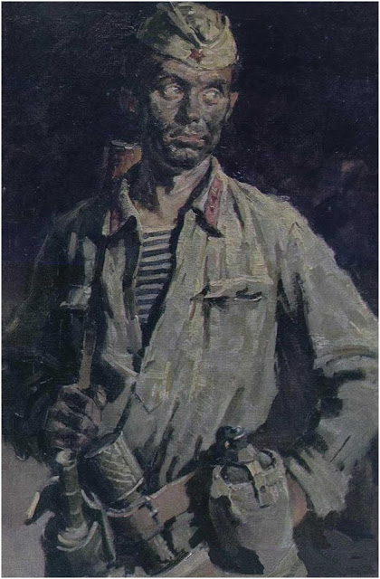 Бут Николай. Морской пехотинец из аджимушкайских каменоломен.