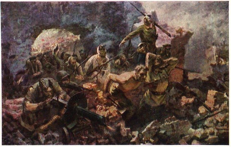 Бут Николай. Брестская крепость.