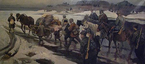 Блинков Александр. Партизанский обоз.