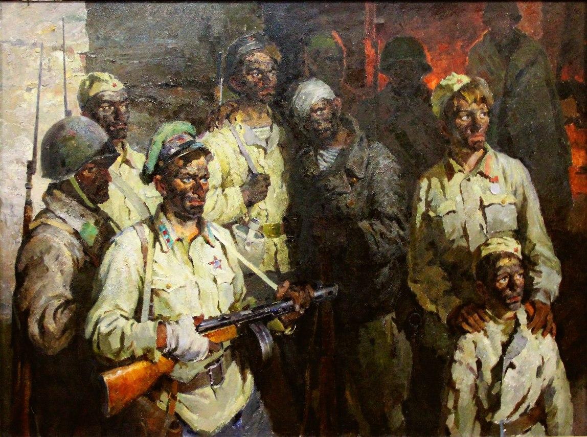 Бут Николай. Солдаты подземного гарнизона.