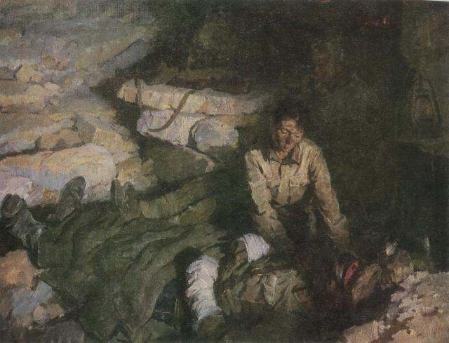 Бут Николай. Подземный госпиталь.
