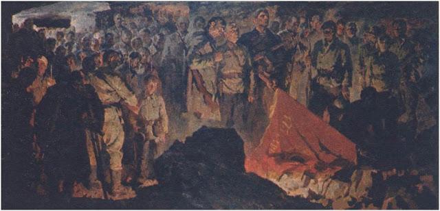Бут Николай. Клятва. Аджимушкайские каменоломни. 1942 год.