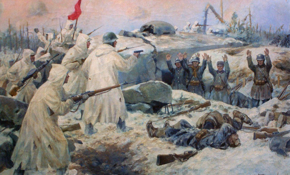 Владимиров А. Сдача белофиннов.