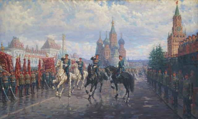 Богаткин Сергей. Парад Победы.