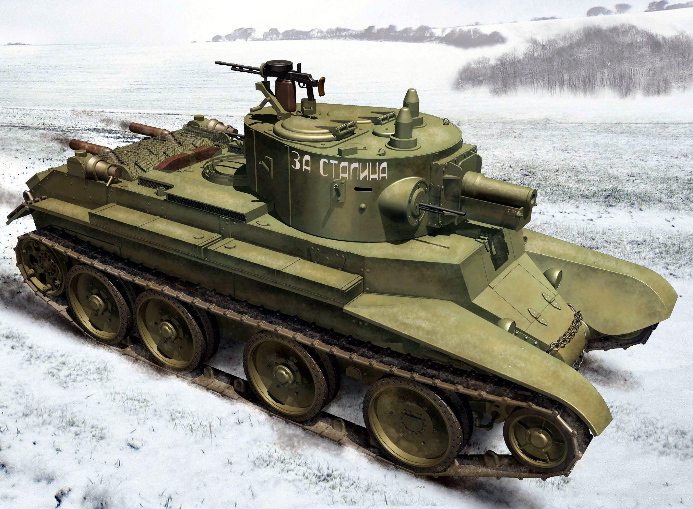 Morshead Henry. Танк БТ-5А.