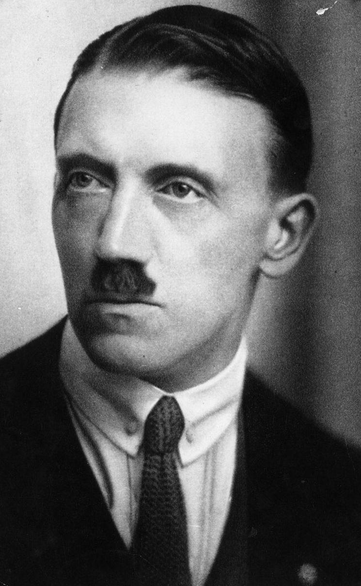 Гитлер в 20-е годы.