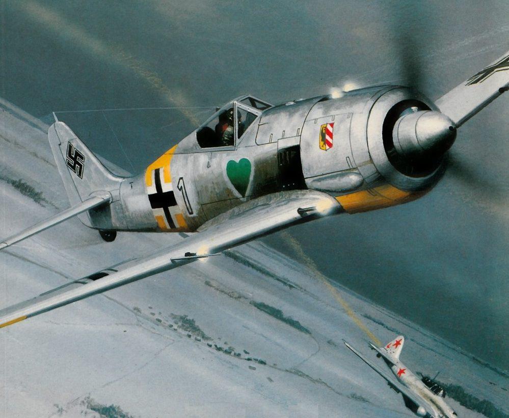 Wyllie Iain. Истребитель Fw-190.