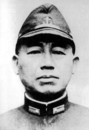 Вице-адмирал Такидзиро Ониси.