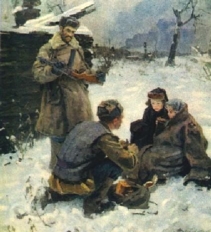 Савостьянов Федор. Душа солдата.
