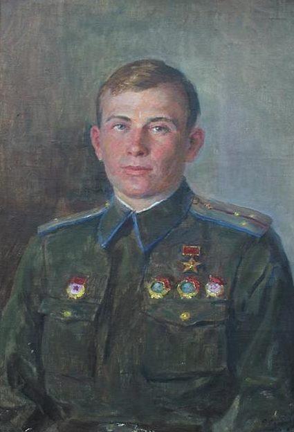 Сычков Федот. Герой из Троицка. Портрет А.Г. Котова.
