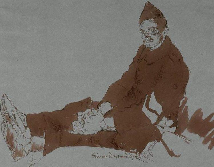 Ainsworth Edgar. Французский военнопленный.