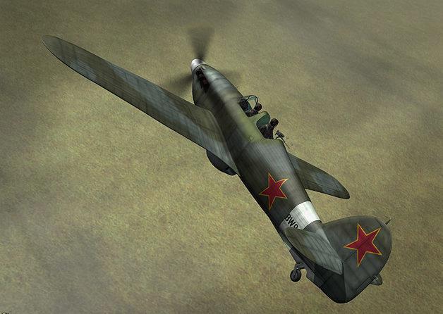 Boucher Jerry. Истребитель Hurricane Mk.XI.