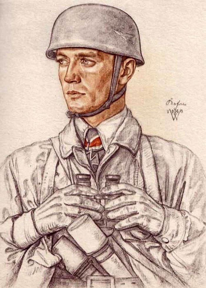 Willrich Wolfgang. Капитан Horst Kerfin.