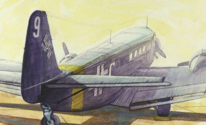 Smith David. Транспортный самолет Ju-52.