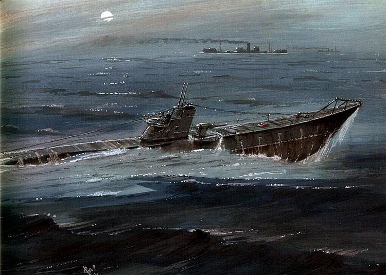 Емышев Владимир. Подводная лодка С-13.