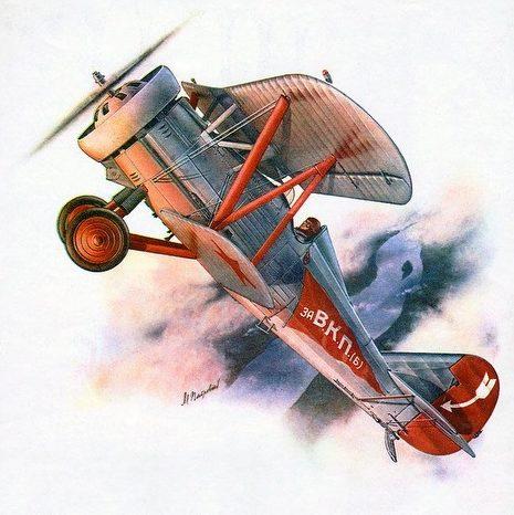 Петровский Михаил. Истребитель И-5.