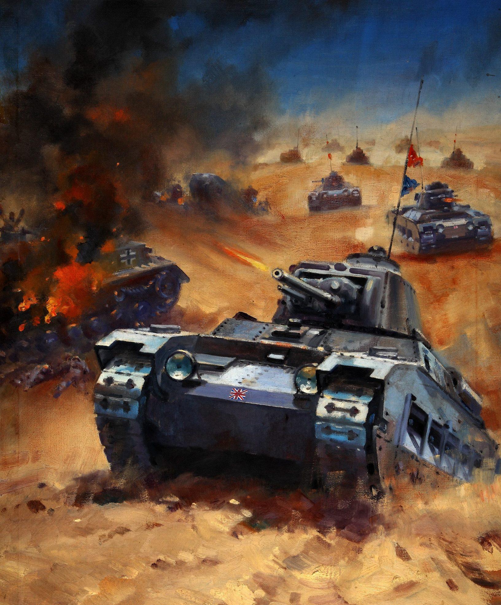 Krogman W. Британские танки «Matilda».