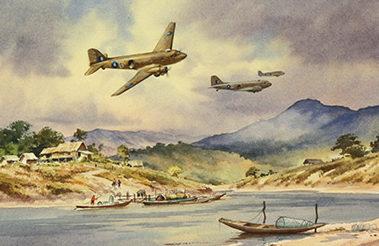 Pannett Denis. Транспортные самолеты Douglas Dakotas.