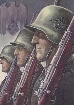 Willrich Wolfgang. Солдаты.