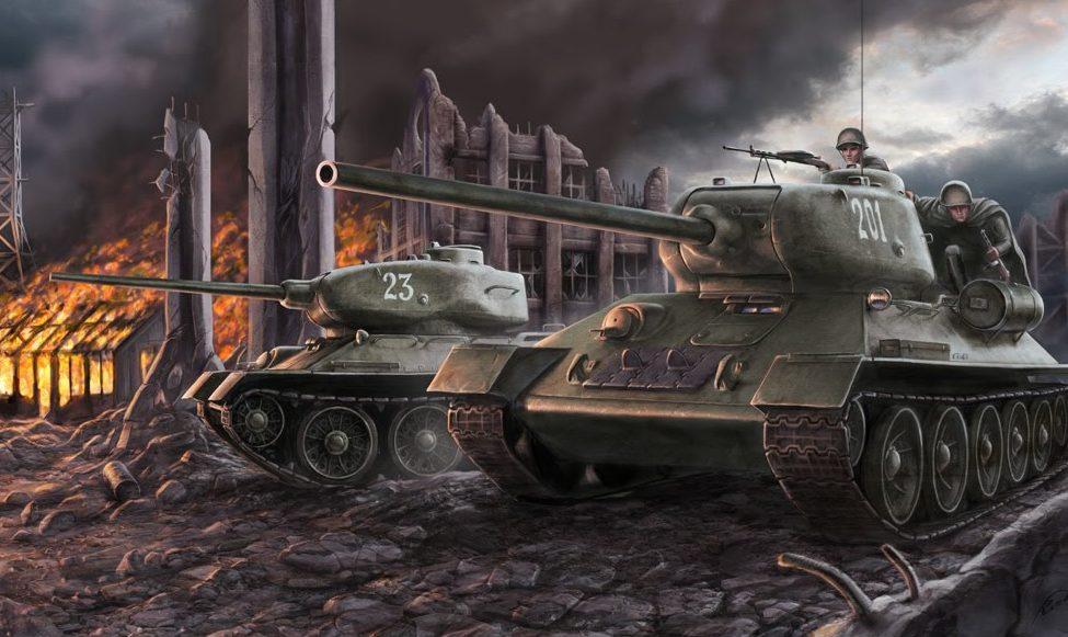 Кочнев Роман. Танки Т-34-85.