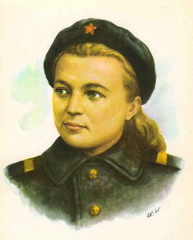 Кручина Александр. Герой Советского Союза Г. Петрова.